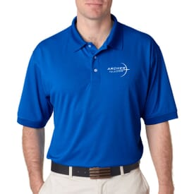Ultraclub® Men's Platinum Performance Pique Polo With Tempcontrol Technology