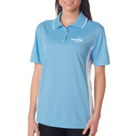 Ultraclub® Ladies' Cool & Dry Sport 2-Tone Polo