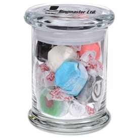 Gourmet Jar With Salt Water Taffy