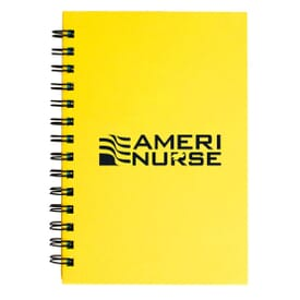 "ON SALE-5"" X 7"" Spiral Notebook With Colored Paper"