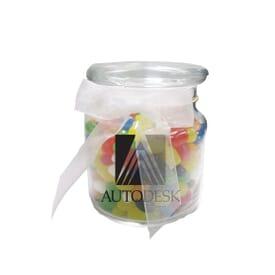 22 Oz Glass Jar With Gourmet Jelly Beans