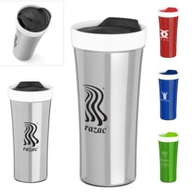 16 oz Montreal Ceramic Stainless Steel Tumbler