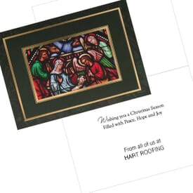 Holiday Nativity Greeting Card