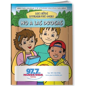 Drugs, Smart Kids Say No To Drugs (Spanish)- Coloring Book