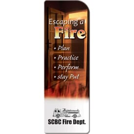 Bookmark- Escaping A Fire