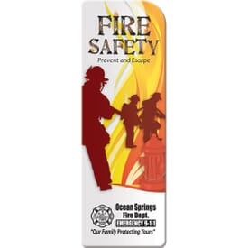 Bookmark- Fire Safety: Prevent And Escape