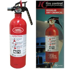 Hazmat Vehicle Fire Extinguisher