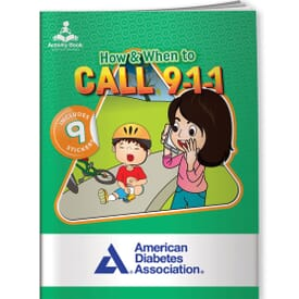 Activity Book&Stickers - How & When To Call 911