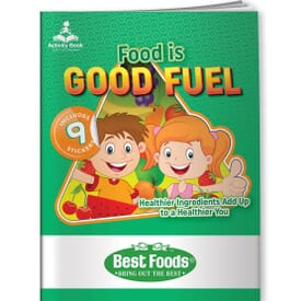 Activity Book & Stickers - Food Is Good Fuel