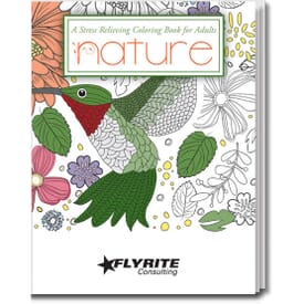 Nature Stress Relieving Coloring Book For Adults