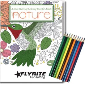 Adult Coloring Relax Pack - Nature