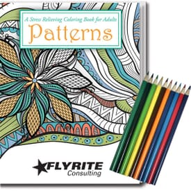 Adult Coloring Book Relax Pack- Patterns