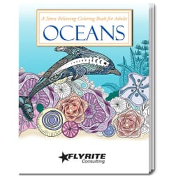 Oceans Stress Relieving Coloring Book For Adults