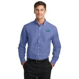 Port Authority® Superpro™ Oxford Shirt- Men's