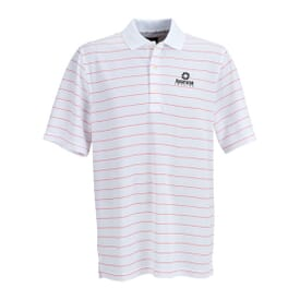 Greg Norman Play Dry® Performance Striped Mesh Polo